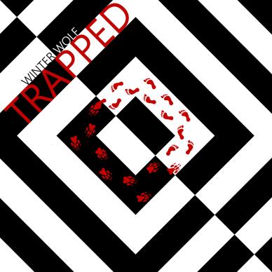 Trapped Album Art Winter Wolf